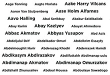 Name list of people who contributed to SkyWay EcoTechnoPark construction